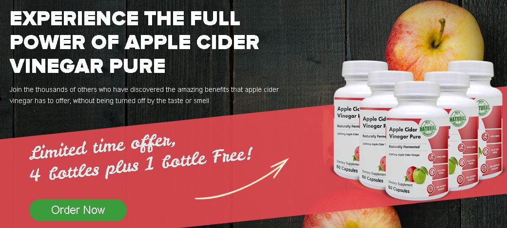apple cider vinegar pure capsules